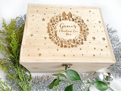 Wreath Keepsake Box