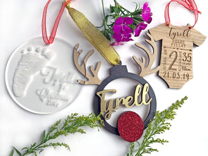 Baby Info Christmas Decoration