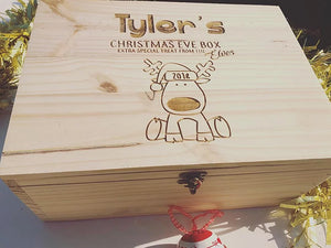 Cute Reindeer Keepsake Box