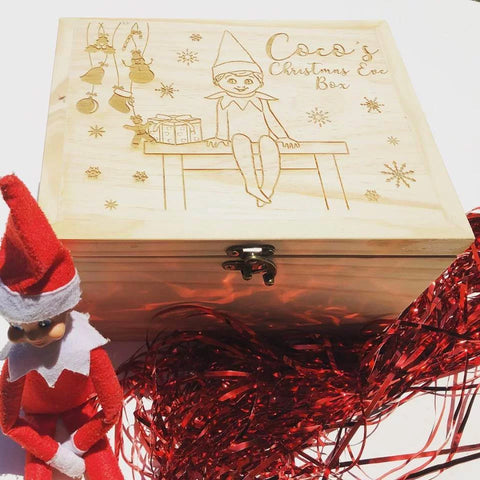 Elf on a Shelf Keepsake Box