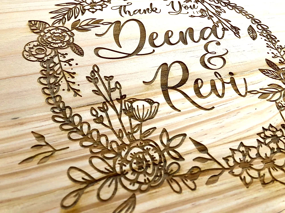Engraved Decorative Keepsake Box