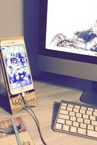 Engraved Cell Phone Stand