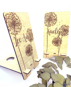 Dandelion Cell phone stand