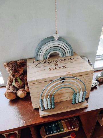 Own personal message keepsake box