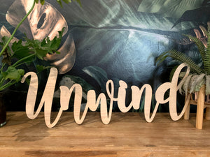 Large personalized sign