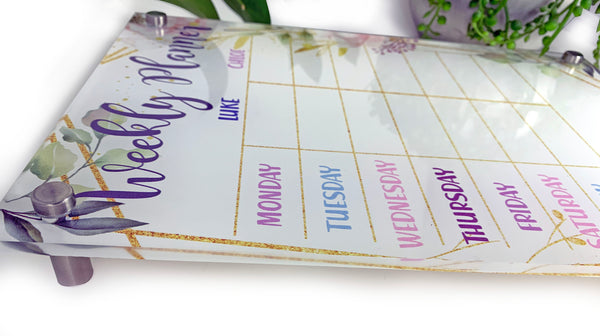 Personalised Weekly Planner