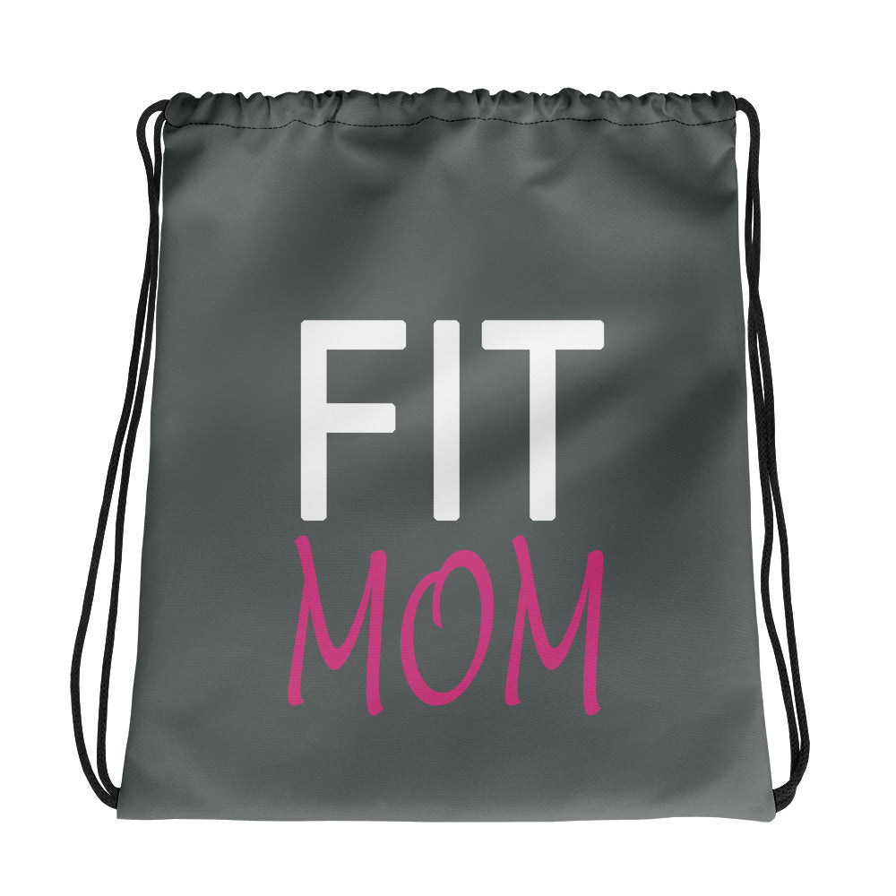 Fit Mom Drawstring bag