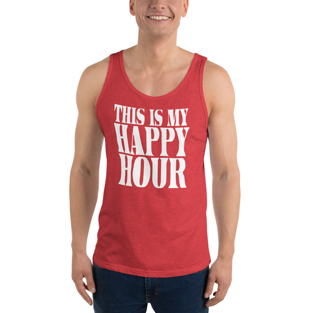 This Is My Happy Hour Unisex Tank Top