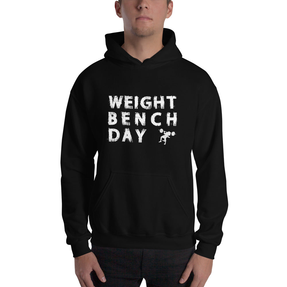 Weight Bench Day Hooded Sweatshirt