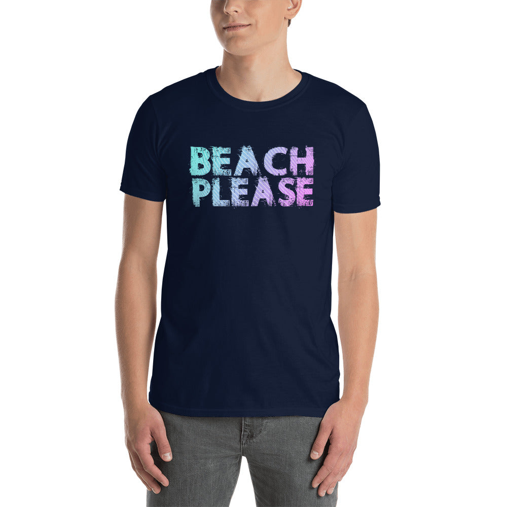 Beach Please Short-Sleeve Unisex T-Shirt