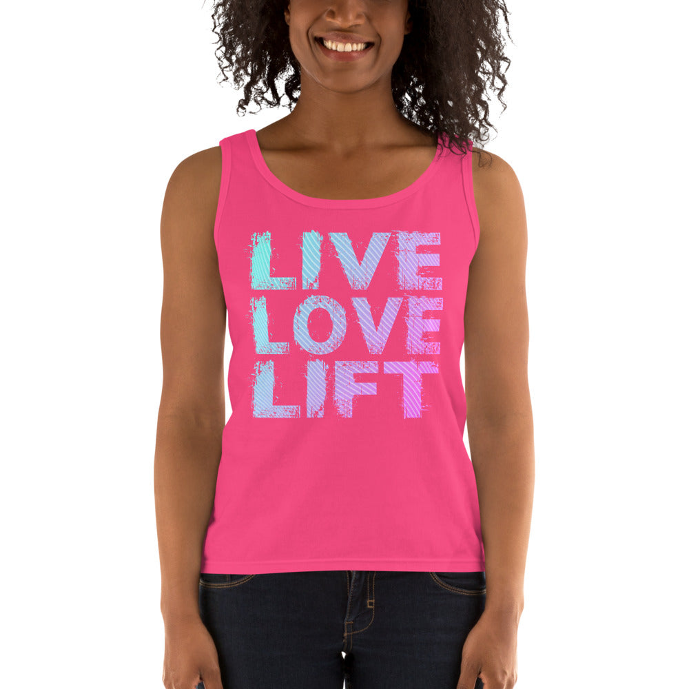 Live Love Lift Ladies' Tank