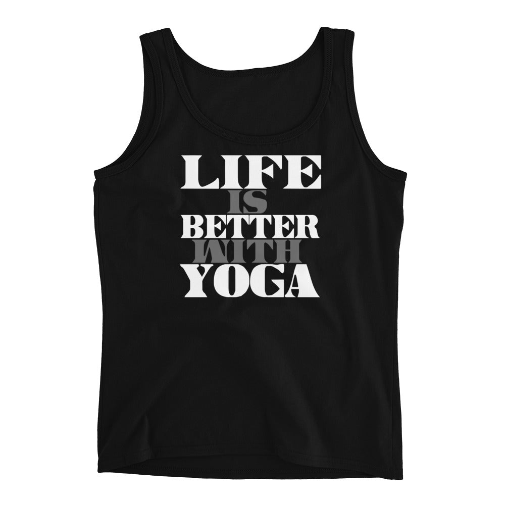 Life Is Better With Yoga Ladies' Tank