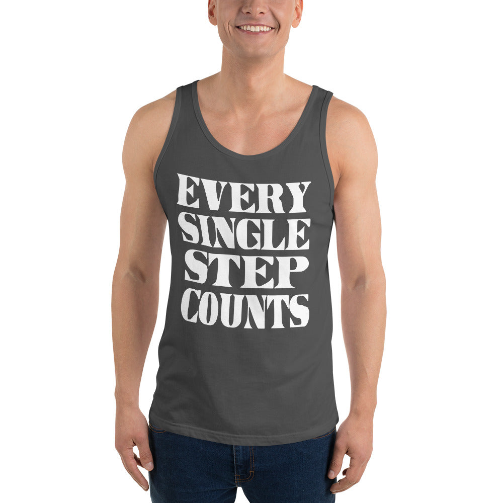 Every Single Step Counts Unisex Tank Top
