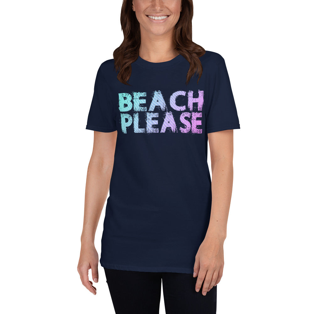 Beach Please Short-Sleeve Ladies' T-Shirt