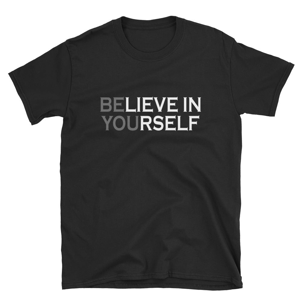Be You Believe In Yourself Short-Sleeve Ladies' T-Shirt