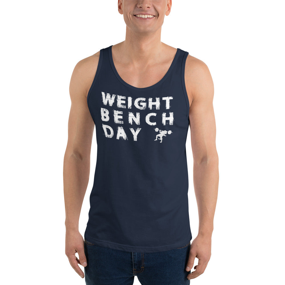 Weight Bench Day Unisex Tank Top