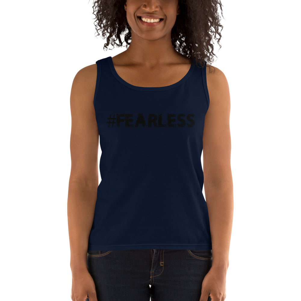 Fearless Hashtag Ladies' Tank