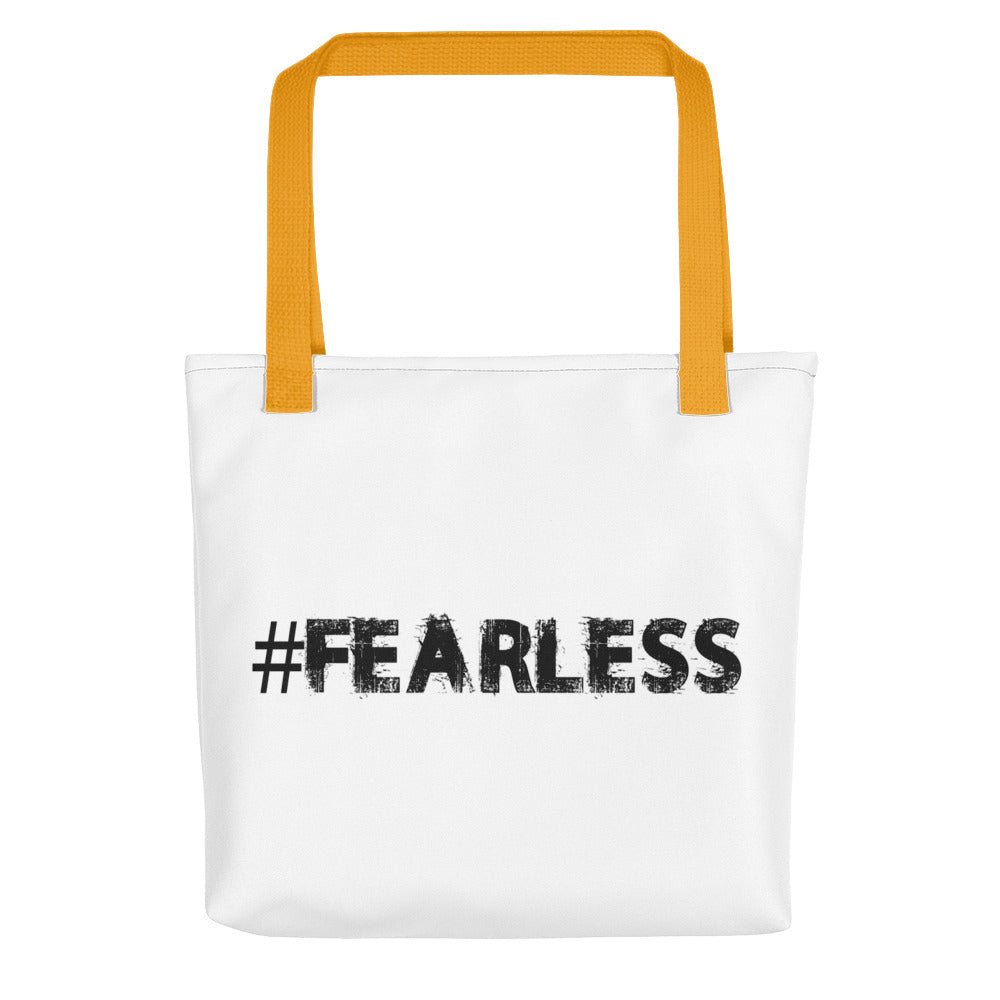 Fearless Hashtag Tote bag