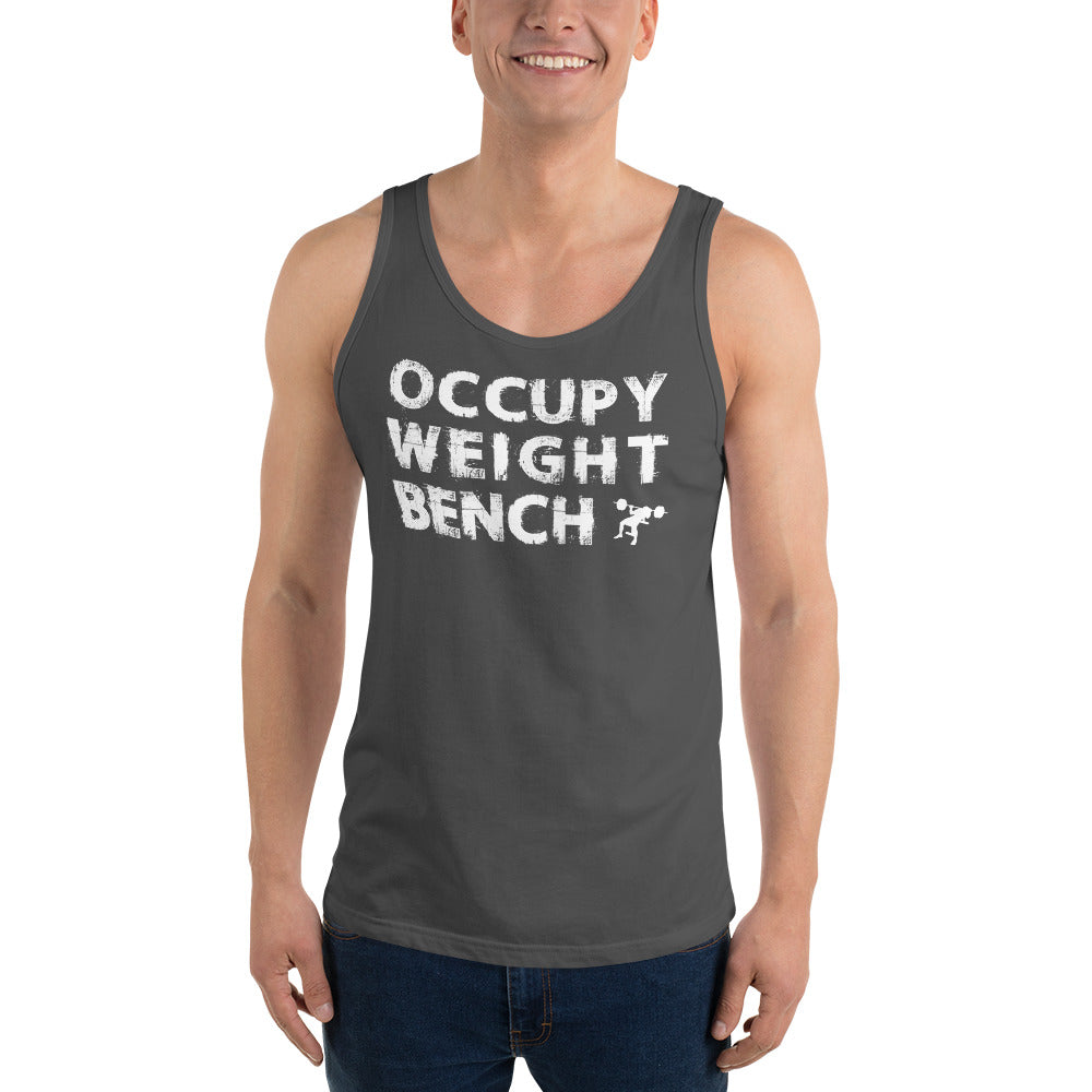 Occupy Weight Bench Unisex Tank Top