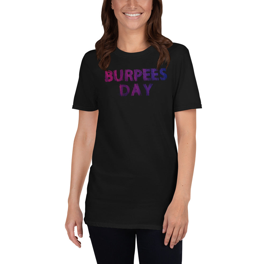 Burpees Day Short-Sleeve Ladies' T-Shirt