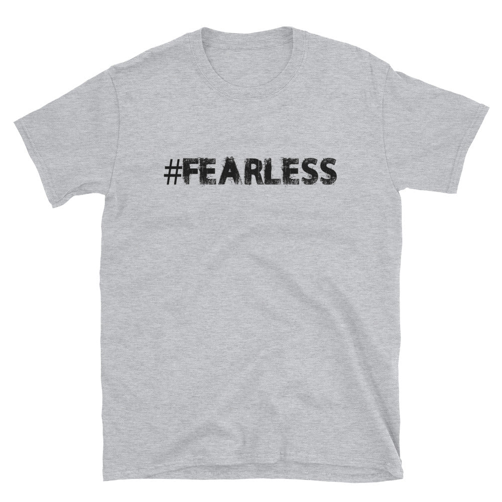 Fearless Hashtag Short-Sleeve Unisex T-Shirt