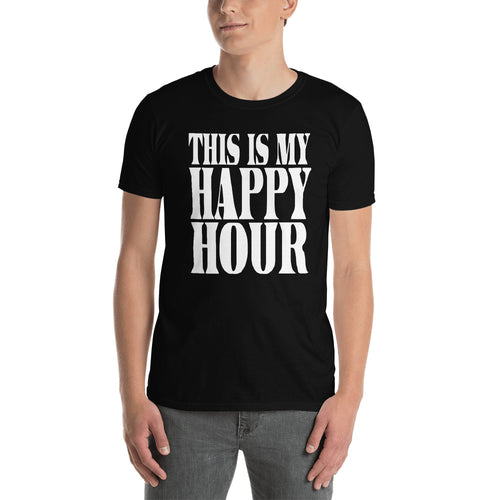 This Is My Happy Hour Short-Sleeve Unisex T-Shirt