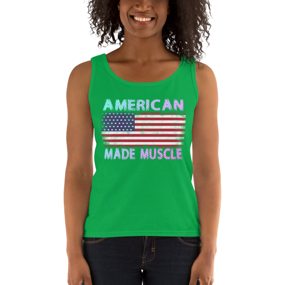 American Made Muscle Ladies' Tank