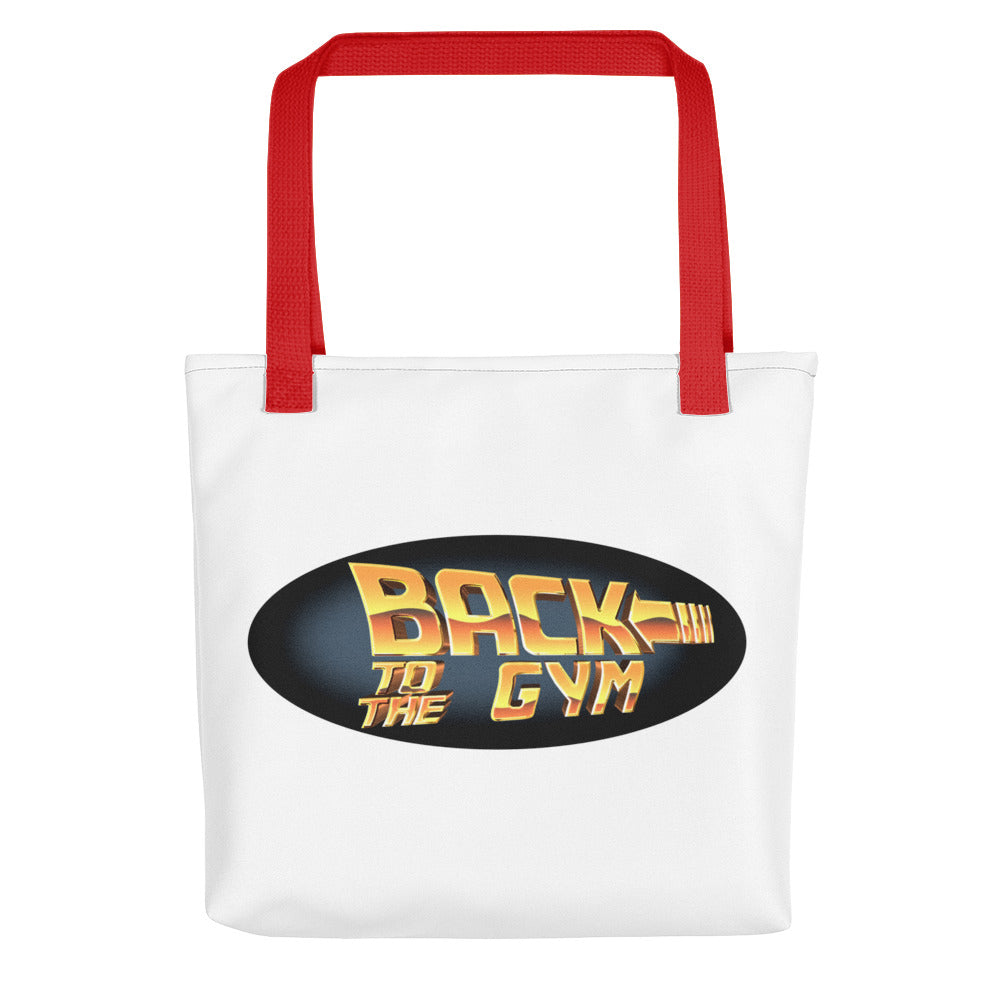 Back To The Gym Tote bag