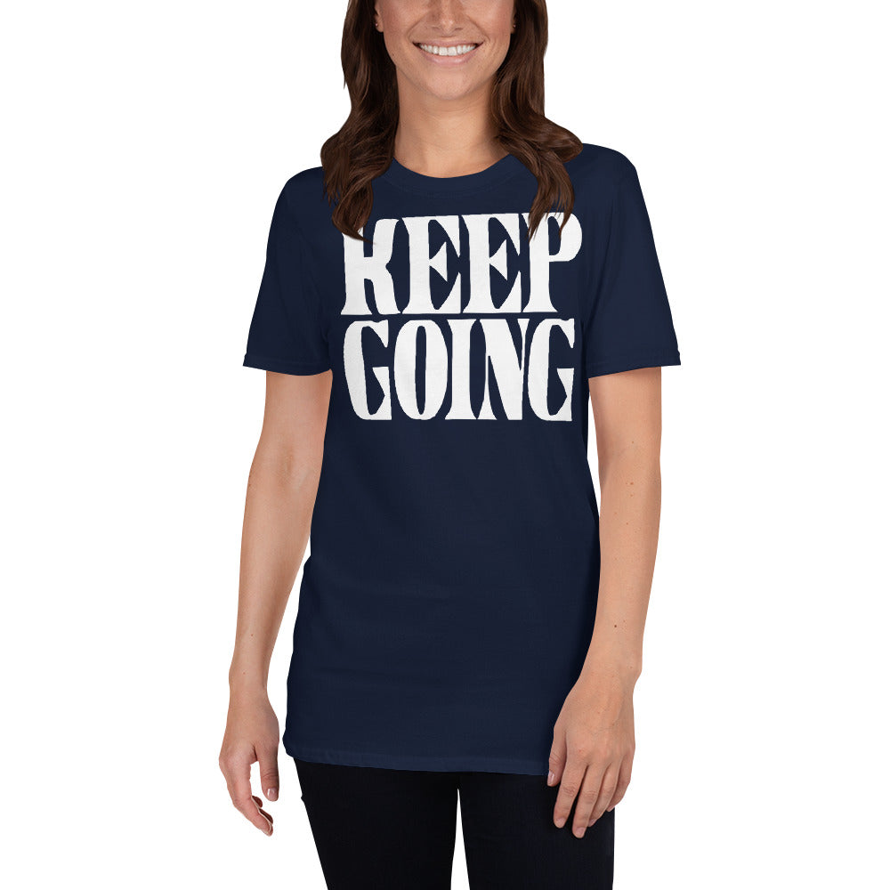 Keep Going Short-Sleeve Ladies' T-Shirt
