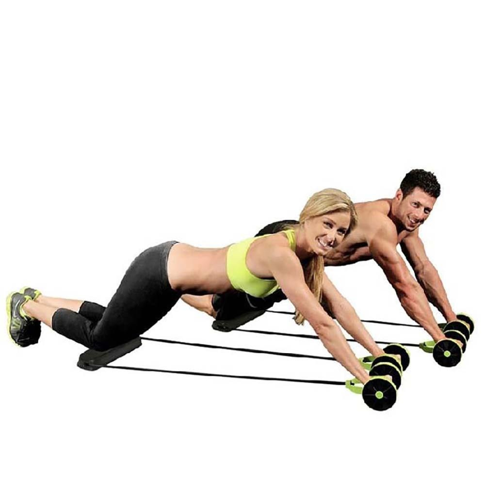 Pull Rope Abs Roller Wheels
