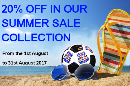 Summer Sale - 20% off selected products