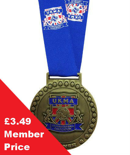 Hand out UKMA winners medals at the end of the season!