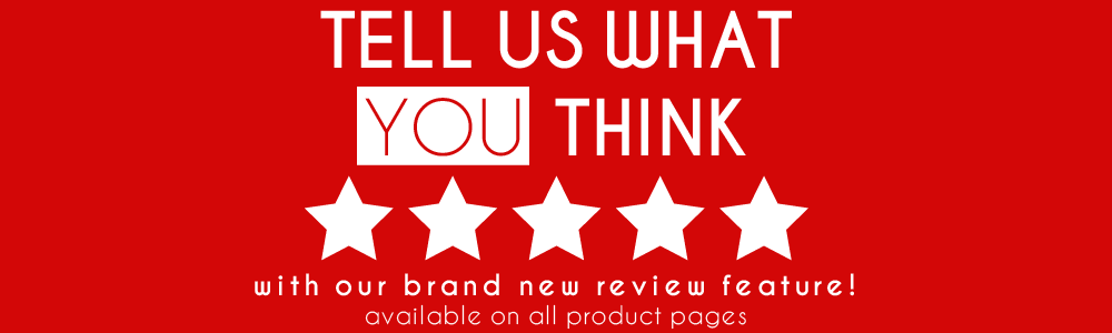 60% off your next order when you review our featured products!