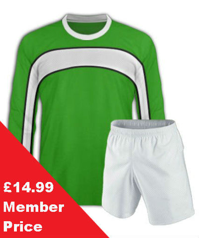Green Football Kit