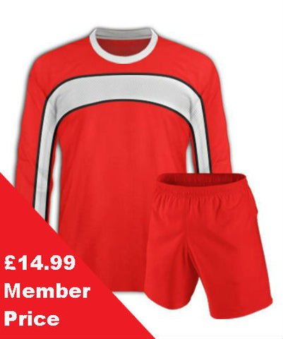 Red Football Kit