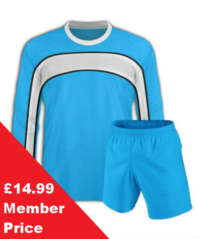 Sky Blue Football Kit