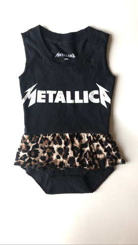 Metallica Skirted Leotard