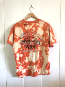 Harley Davidson Acid Washed Pocket T-Shirt