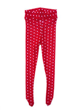 Load image into Gallery viewer, Minnie Polka Dot Tights