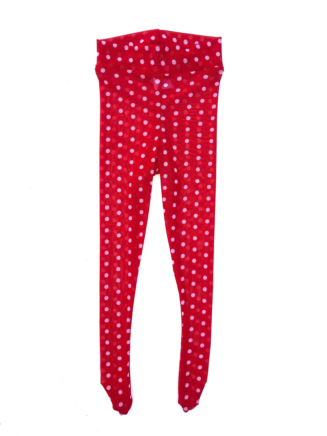 Minnie Polka Dot Tights