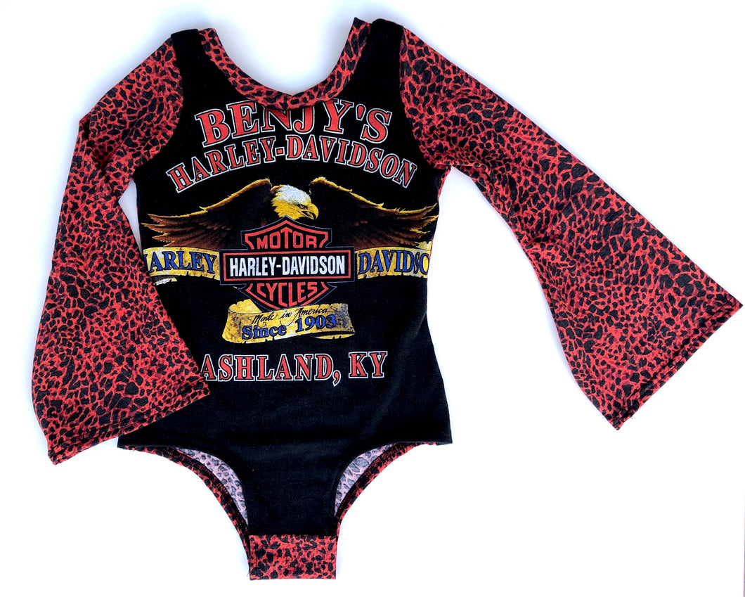 MYSTERY Bell Sleeve Harley or Band Leotard (baby/kids)