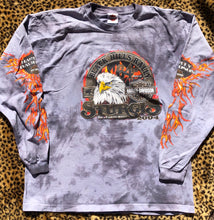 Load image into Gallery viewer, XXL Tie Dye Harley Davidson Black Hills Rally Long Sleeve