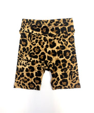 Load image into Gallery viewer, Leopard Biker Shorts (all sizes)