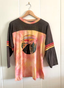 Hutchinsons Motors Tie Dye Long Sleeve