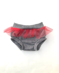 Plaid Tutu Bummies