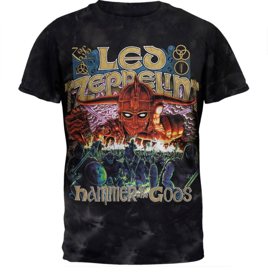 Led Zeppelin T-shirt Lounge Set (all styles)