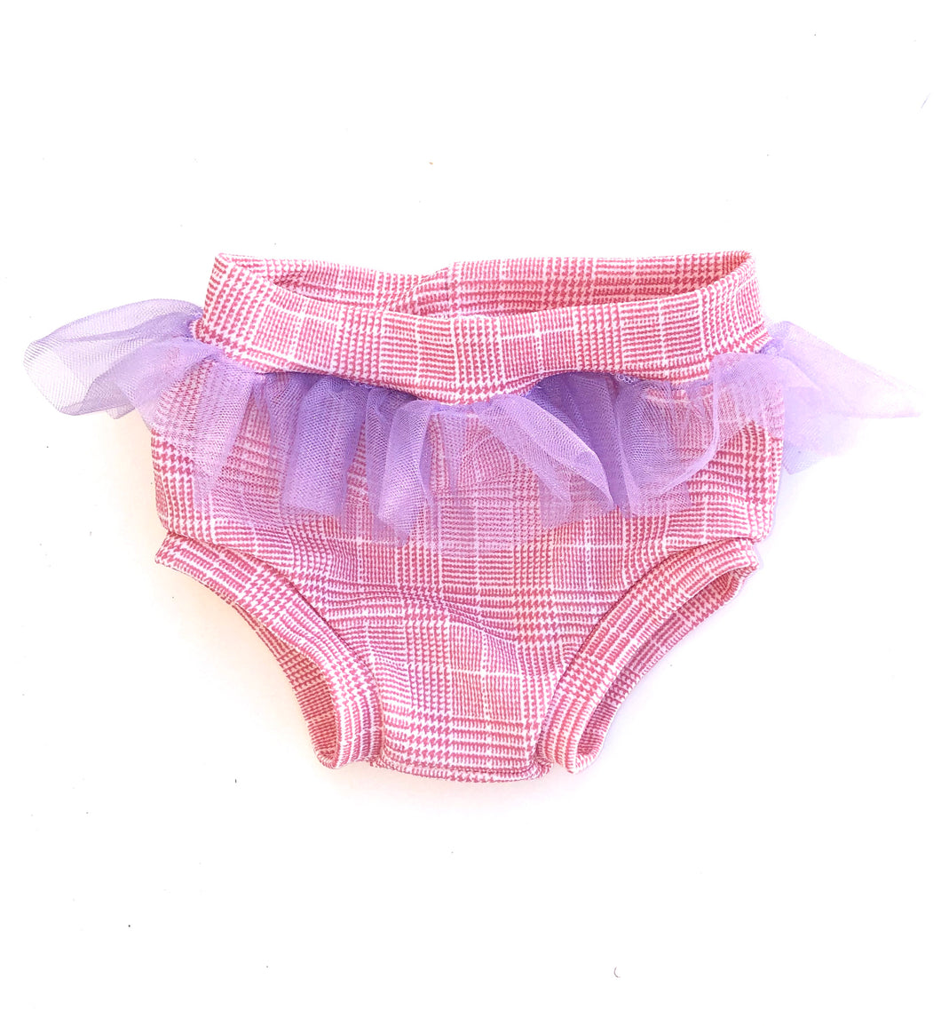 Pink Plaid Tutu Bummies