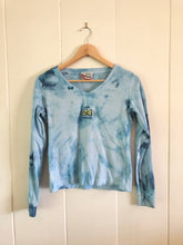 Load image into Gallery viewer, Jeff Gordon Tie Dye Long Sleeve V Neck