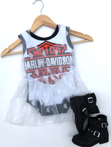 MYSTERY Harley or Band Leotard (baby/kids)