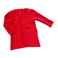 Load image into Gallery viewer, Christmas Red Duster Cardi